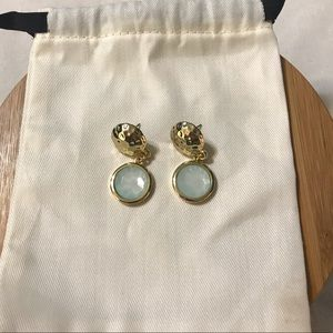 Lilly Pulitzer Hammered Dangle Earrings